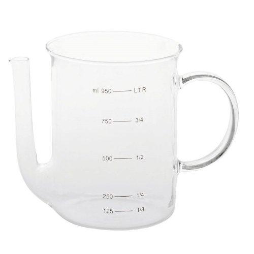 Fett-Trenner, 1,0 Liter, aus Borosilikatglas
