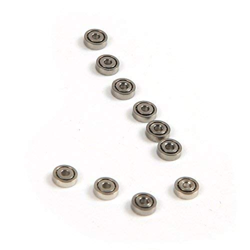 Atoplee - 100 rodamientos bolas metal rueda