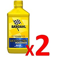 Bardahl Olio Moto Miscela 2 Tempi Scooter Injection 1 LITRO 201140