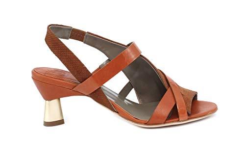 IXOS Sandalo Gleda/MORG/Silene Cuoio+ARAGOSTA Taglia 38 - Colore Arancione