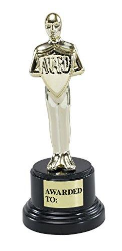 Bristol Novelty gj143Movie Award Party Zubehör Set, Gold/Schwarz, Einheitsgröße