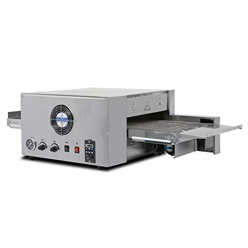 IDABAY Horno para Pizza Eléctrico 6400W de Acero Inoxidable Combina la plancha...