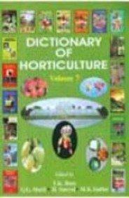 Dictionary of Horticulture Vol 9 [Hardcover] [Jan 01, 2017] Bose, T K et al eds par T K et al eds Bose
