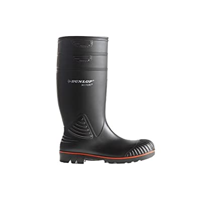 Dunlop Acifort Heavy Duty full safety Schwarz, S5 - A442031