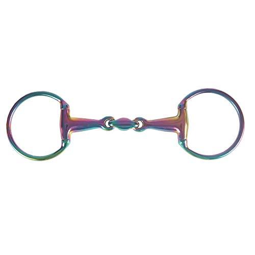 HORKA Double Jointed Eggbutt Ss Bit 14.5 cm Rainbow -