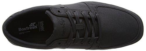 Boxfresh Spencer Bsc Wxd Cnvs Blk/blk, Sneakers basses homme Noir - Noir