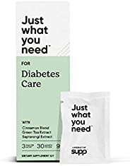 Supp Diabetes Care - Diabetes Support Capsule (with Green Tea & Cinnamon extract), Vitamin D (2000IU) &