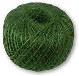 150G BALL OF STRONG GARDENING GARDEN GREEN JUTE STRING TWINE