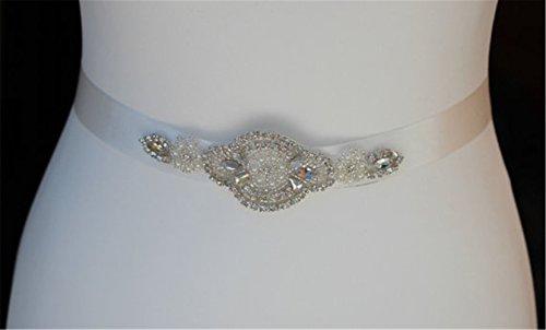 Oro rhinestone applique con pedrería y perlas rosetón hecho a