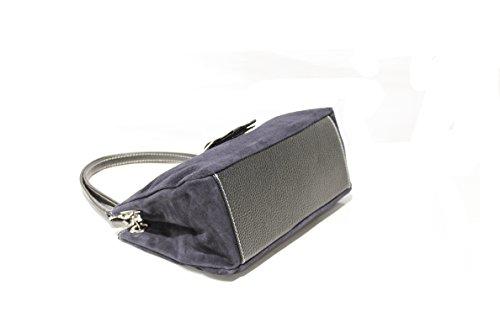 Kleine Handtasche im süßen Design mit auffälliger Schnalle im Black,Blue,Brown,D.Brown,Grey,Red,Oliv,Taupe Grey