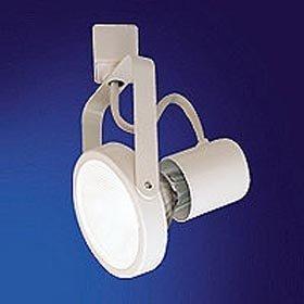 Nora Track Light NTH-107B - Black - PAR30 Gimbal Ring - Compatible with Halo Track - 120 Volt by Nora Lighting (Par30 Track)