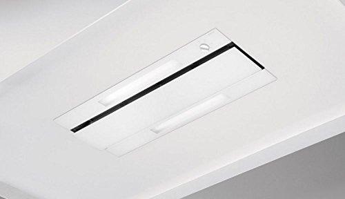 Nowy 878Dunstabzugshaube 960M³/h transparent, weiß
