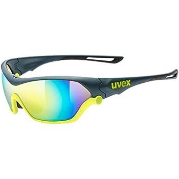 1661e456ac5 Uvex Sportstyle 710 Gafas de Ciclismo, Unisex Adulto, Negro/Amarillo ...