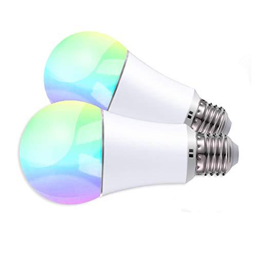 Angebot: JinvooSmart WiFi Smart E27 LED Glühbirne, Dimmbar, RGB + Warmweiß, 16 Millionen Multi-Color Dimmbar, Kompatibel mit iOS/Android, Kompatibel mit Alexa Echo und Google Assistant, 6W für nur 21,99 € statt bisher 24,98 € auf Amazon