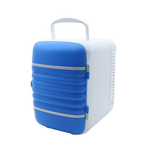 LayOPO 4L Mini Kühlschrank Kühler & Wärmer, Tragbarer 12V Fahrzeugkühlschrank Elektrischer abkühlender Heizungs-Kasten Kühlschrank für Auto-Innenministerium und Schlafsaal, kommt mit Netzkabel - Ds Medikament