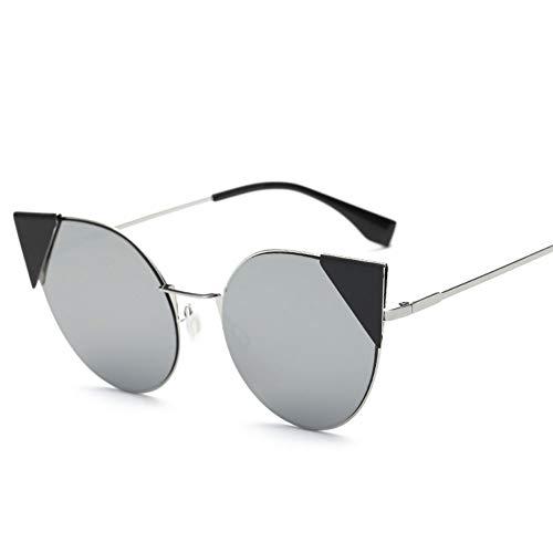 Thirteen Farbe Sonnenbrille Weiblich Anti-UV-Anti-Glare, Geeignet Für Dekoration, Sonnenschutz, Reisen Im Freien, Einkaufen, Reisen, Fahren, Geeignet Für Eine Vielzahl Von Gesichtstypen. (Color : G)