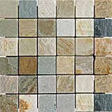2x2 Golden White Quartz Mosaic Tiles for Backsplash, Shower Walls, Bathroom Floors, Jacuzzi, Swiming Pools by Marble 'n things