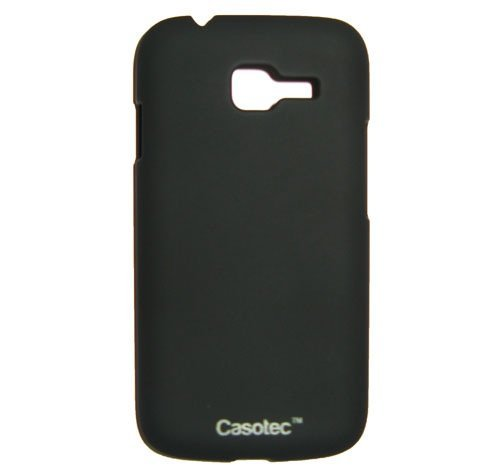 Casotec Ultra Slim Hard Shell Back Case Cover w/ Screen Protector for Samsung Galaxy Star Pro S7262 - Black  available at amazon for Rs.249