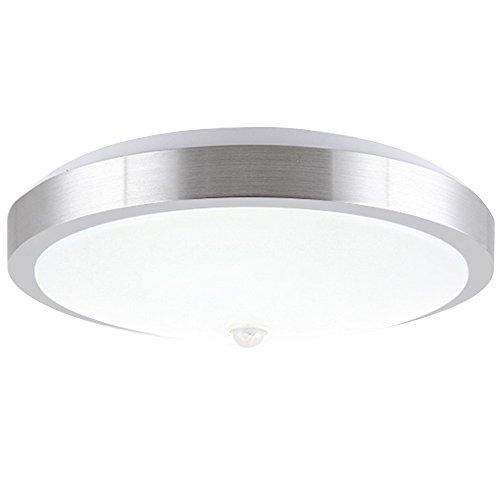 ZHMA Luz de sensor de movimiento, 12W PIR LED Luz de techo,...