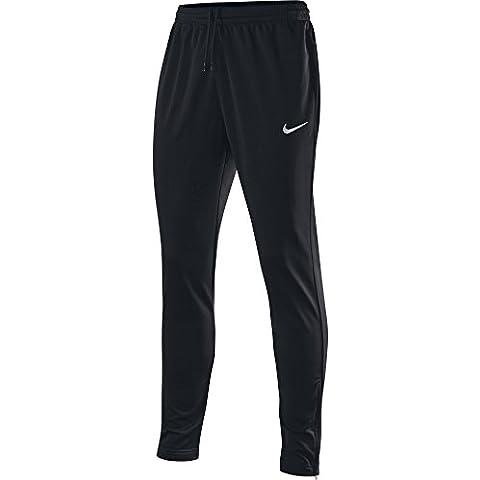 Nike Libero Tech Knit Pant - Pantalón para hombre, color negro / blanco, talla S