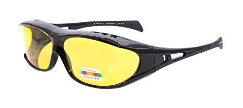 Sobre gafas de sol polarizadas para conducir día y noche pesca gafas superpuestas rwn20
