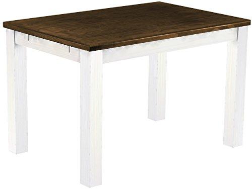Brasil mobili tavolo da pranzo 39 rio classico 39 120 x 80 x - Mobili legno bianco anticato ...
