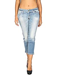 beed5ab78f Meltin Pot - Jeans Vaquero para Mujer MILENE - Female Fit - Largo 24