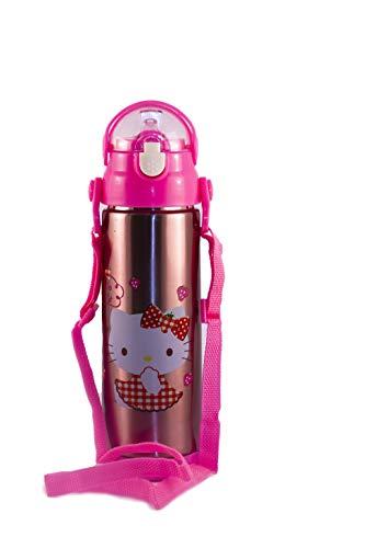 f70f117ff Hello Kitty 500 ml Bottiglia di acqua carattere bambini per la scuola,  borraccia bottiglia per