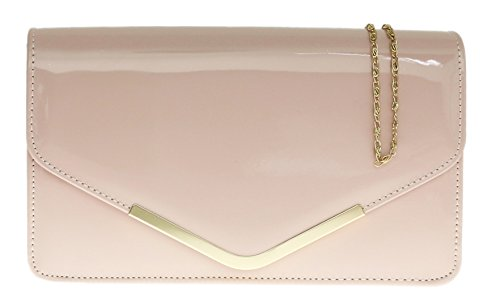 girly-handbags-belle-cuir-simili-verni-cadre-metallique-enveloppe-pochette-sac-depaule-mariage-fete-
