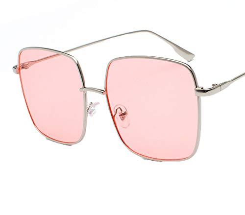 Jnday Damen Metallrahmen Fahrradbrille klassisches Design Outdoor-Brille Rechteckig Sonnenbrillen Leicht Sonnenbrille