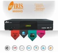 IRIS 9800 HD receptor satélite full HD wifi
