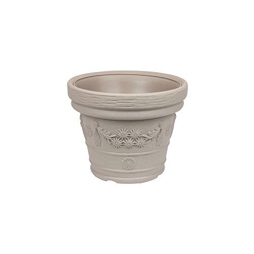Prosper Plast Dbde30–7529u 30 x 23.5 cm Pot de fleurs Decora – Mocca (12 pièces)