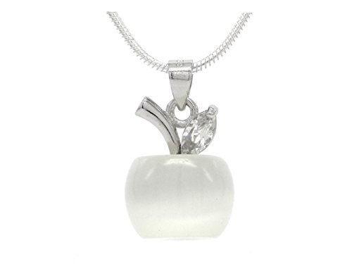 white-apple-moonstone-necklace-with-real-silver-necklace-and-clear-gemstone-with-black-necklace-box-