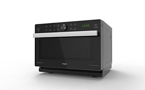 Whirlpool MWP 339 SB Forno a Microonde, Nero e Argento