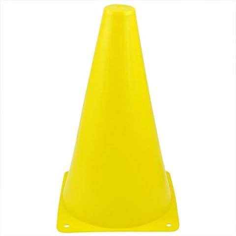 Marca Veroda colorido agilidad Slalom conos para patinaje entrenamiento tráfico Amarillo amarillo