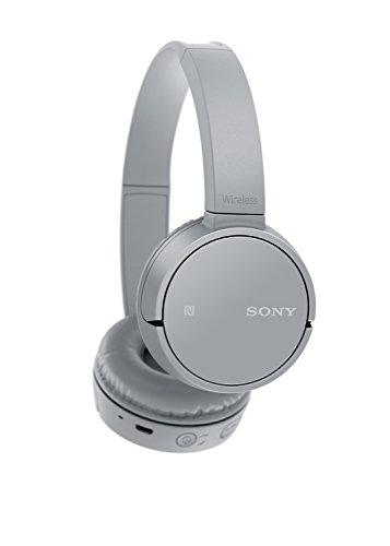 Sony WH-CH500 kabelloser Bluetooth Kopfhörer (Bis zu 20 Stunden Akkulaufzeit, Freisprechfunktion, NFC, schwenkbares Design) grau - 2