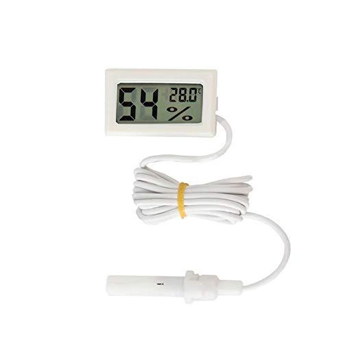 ypypiaol Mini Misuratore di umidità di Temperatura Igrometro Digitale LCD per Auto da Interno B