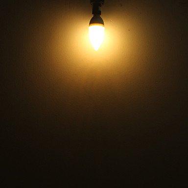 FDH E14 C35 Luces de velas LED blanco cálido 100 lm 220-240 V CA