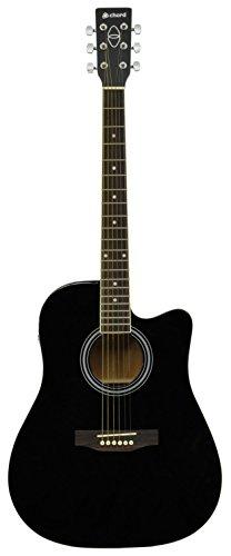 Intensidad de corriente cw26ce - BK electro-acústica de la guitarra - ensartadas de acero de la parte occidental de acabado en color negro