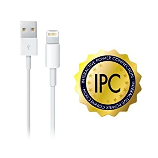 Alca power 1 m Mfi Certified USB-Lightning cable, USB - Lightning Cable Compatible With Iphone, Ipad, Ipad Mini And Latest Generation iPod.