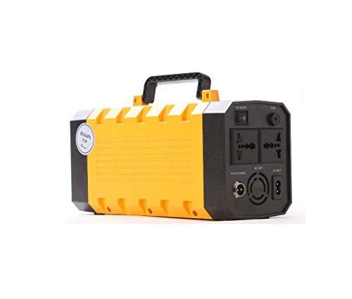 DUQI22 Nennleistung 500W,Solarbatterie Solar Stromerzeuger Stromgenerator 220V AC 12V DC Und USB Ausgang,Tragbarer Solar Wechselrichter,Aufgeladen Durch Solarpanel/Steckdose/Auto Lithium Polymer Akku