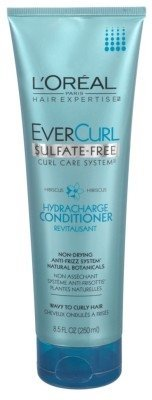 Loreal Evercurl Conditioner Sulfate Free Hydracharge (241GM, Pack of 2)