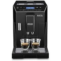 De'Longhi Eletta, Fully Automatic Bean to Cup Coffee Machine, Cappuccino and Espresso Maker, ECAM 44.660.W, Black