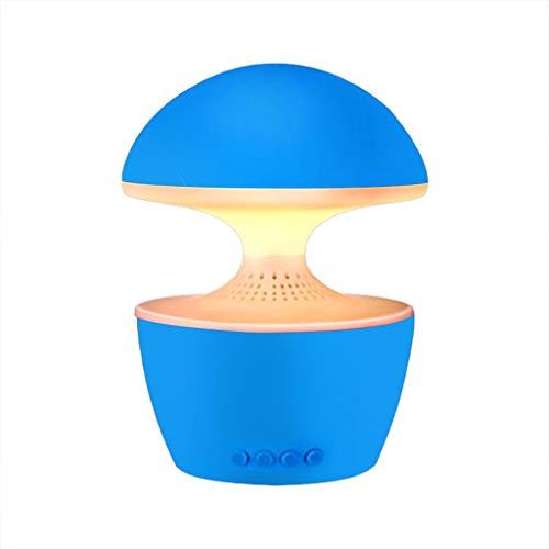 Lampe de réveil, Musique De Nuit LED Audio Bluetooth Musique Tactile Gradation Lampe De Bureau De Chargement De Couleur Magique, Lecteur De Carte Radio FM