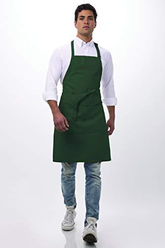Chef Works Butcher Schürze, Länge: 86,4cm von 24Breite, hunter green, 34-Inch Length by 24-Inch Width -