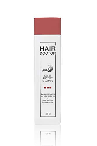 Hair Doctor - Color Protect Shampoo - Professionelles Shampoo für gefärbte Haare pflegend mit Mango Kern-Öl,1er Pack 250 ml