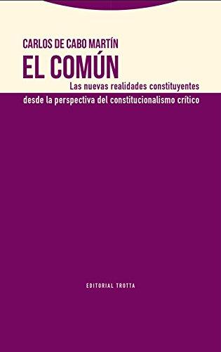 El común (Estructuras y procesos. Derecho)