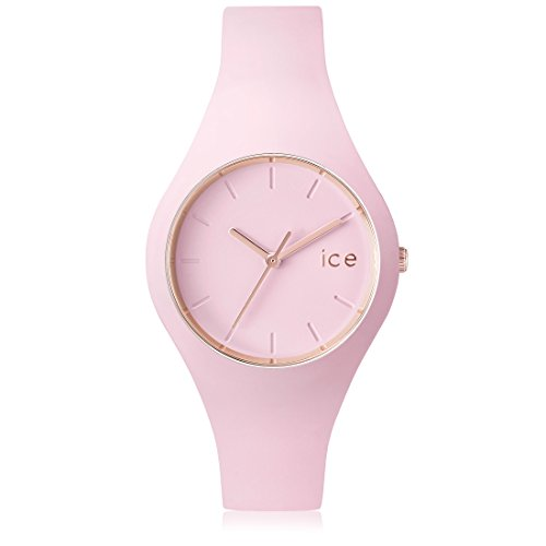 Ice-Watch - ICE glam pastel Pink lady - Montre rose pour femme avec bracelet en silicone - 001065 (Small)