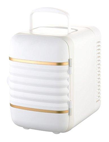 Preisvergleich Produktbild geambo 4L 12V Tragbare Auto Kühler/Wärmer Electric Kühlschrank Travel Kühlschrank Persönliche Mini Kühlschrank Automotive Geräten (weiß)