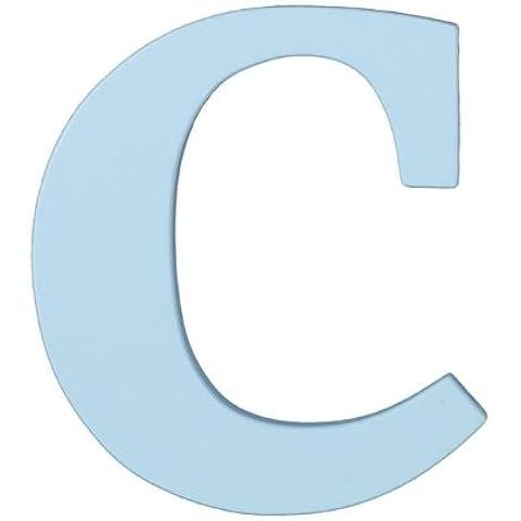 In legno lettera C